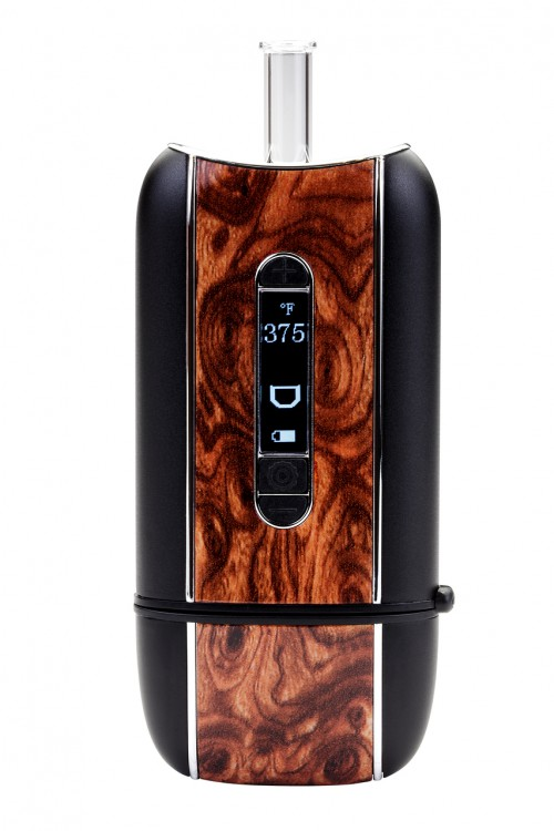 Ascent burl wood front view